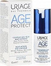 Parfumuri și produse cosmetice Cremă antirid pentru zona ochilor - Uriage Age Protect Multi-Action Eye Contour