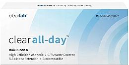 Parfumuri și produse cosmetice Lentile de contact, 3 buc - Clearlab Clear All-day