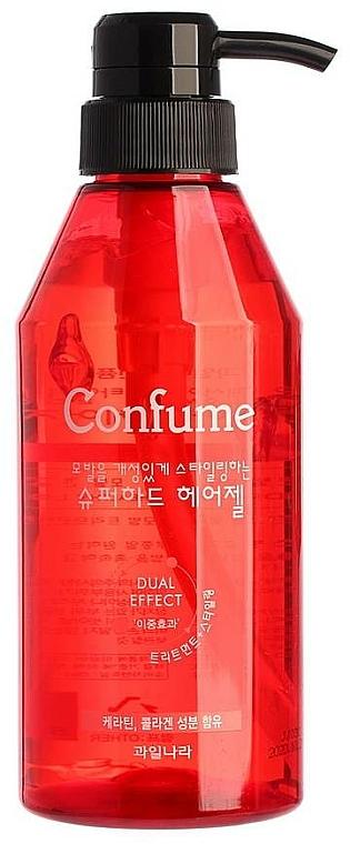 Gel de păr, fixare super puternică - Welcos Confume Superhard Hair Gel