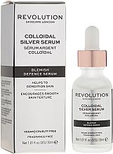 Parfumuri și produse cosmetice Ser facial - Revolution Skincare Colloidal Silver Serum