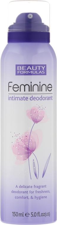 Deodorant pentru igiena intimă - Beauty Formulas Feminine Intimate Deodorant