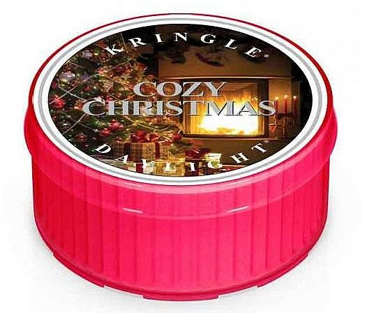 Lumânare de ceai - Kringle Candle Daylight Cozy Christmas — Imagine N1