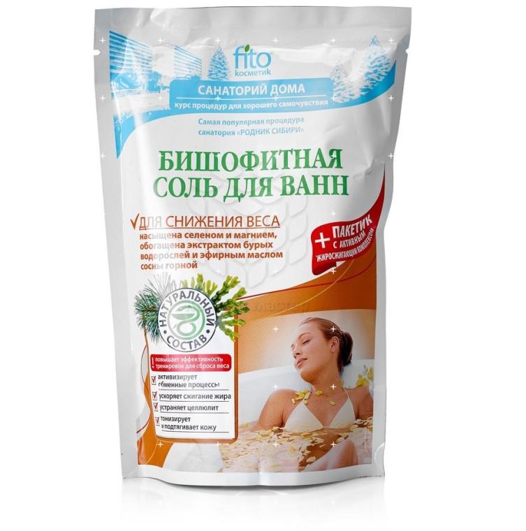 "Sare de baie ""Bischofite"", pentru slăbit - Fito Kosmetik"