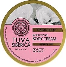 Parfumuri și produse cosmetice Cremă hidratantă pentru corp - Natura Siberica Tuva Siberica Maral Root Moisturizing Body Cream
