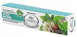 Parfumuri și produse cosmetice Pastă de dinți naturală cu efect de albire - L'Angelica