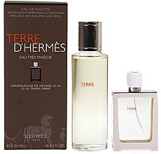 Parfumuri și produse cosmetice Hermes Terre d'Hermes Eau Tres Fraiche - Set (edt/125ml + edt/30ml)