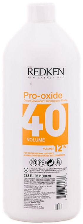 Cremă-decolorant - Redken Pro-Oxide 40 vol. 12% — Imagine N1