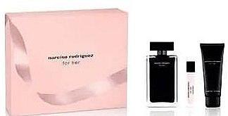 Narciso Rodriguez For Her - Set (edt/100ml + edt/10ml + b/lot/75ml) — Imagine N2
