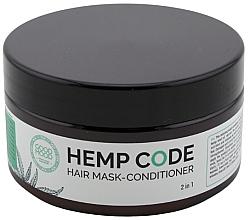 Parfumuri și produse cosmetice Mască-balsam cu ulei de cânepă pentru păr - Good Mood Hemp Code Hair Mask-Conditioner