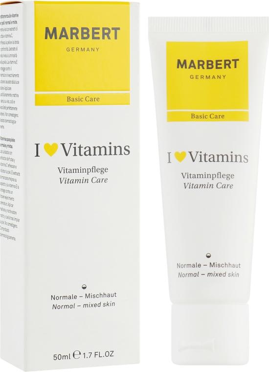 Cremă pentru ten normal - Marbert I love Vitamins Vitamin Care — Imagine N1