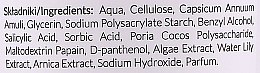 Peeling enzimatic pentru față - Apis Professional Enzymatic Gommage Scrub — Imagine N3