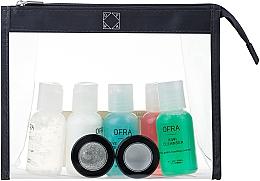 Parfumuri și produse cosmetice Set - Ofra Skin Care Kit Normal (cleanser/30ml + f/ton/30ml + eye/remover/30ml + f/cr/30ml + eye/gel/30ml + f/peel/7ml + f/mask/7ml + bag)