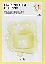 Mască cu magneziu pentru față - A'pieu Cicative Magnesium Sheet Mask — Imagine N1