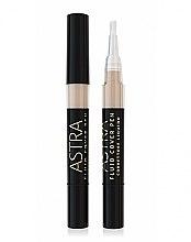 Parfumuri și produse cosmetice Corector de față - Astra Make-up Fluid Cover Pen