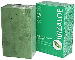 Parfumuri și produse cosmetice Săpun cu rozmarin - Ibizaloe Aloe Vera Soap Romero