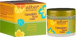 "Parfumuri și produse cosmetice Mască de față ""Papaya"" - Alba Botanica Natural Hawaiian Facial Scrub Pore Purifying Pineapple Enzyme"