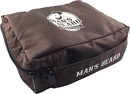 Parfumuri și produse cosmetice Geantă de călătorie pentru bărbați- trusă cosmetică, MB210 - Man's Beard Brown Men's Toiletry Bag