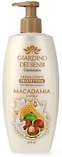 Parfumuri și produse cosmetice Cremă de corp - Giardino dei Sensi Macadamia and Honey Body Cream