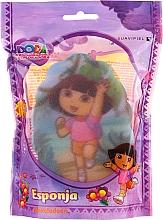 """Parfumuri și produse cosmetice Burete de baie pentru copii """"Dora"""", 169-12, roz - Suavipiel Dora Bath Sponge"""
