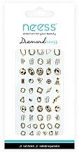 Parfumuri și produse cosmetice Abțibilduri pentru unghii, 3713 - Neess Diamondneess