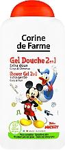 """Parfumuri și produse cosmetice Șampon-gel de duș """"Mickey Mouse"""" - Corine De Farme Mickey"""