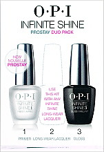 Parfumuri și produse cosmetice Set, IST10+IST30 - O.P.I Infinite Shine Duo Pack
