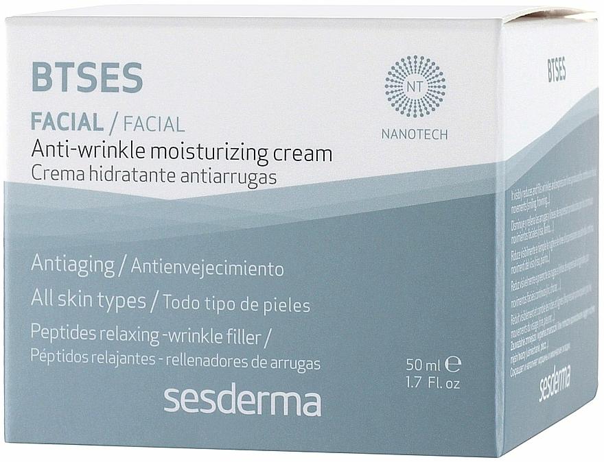 Cremă hidratantă împotriva ridurilor - SesDerma Laboratories BTSeS Anti-wrinkle Cream — Imagine N3