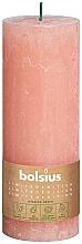 Parfumuri și produse cosmetice Lumânare cilindrică, roz, 190x68 mm - Bolsius