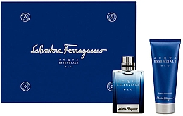 Salvatore Ferragamo Acqua Essenziale Blu - Set (edt/30ml + sh/gel/50ml) — Imagine N1