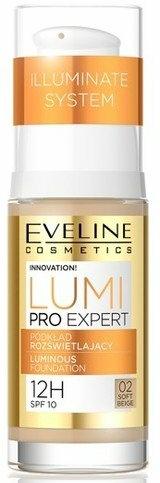 Fond de ten pentru față - Eveline Cosmetics Lumi Pro Expert SPF10