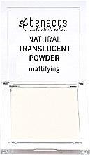 Parfumuri și produse cosmetice Pudră de față translucidă cu efect matifiant - Benecos Natural Translucent Powder Mission Invisible
