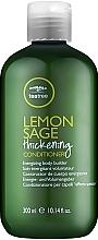 Parfumuri și produse cosmetice Balsam pe bază de extract de arbore de ceai, lămâie și salvie pentru păr - Paul Mitchell Tea Tree Lemon Sage Thickening Conditioner