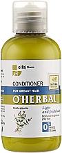 Parfumuri și produse cosmetice Balsam pentru părul gras cu extract de mentă - O'Herbal