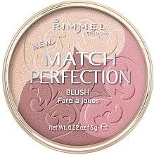 Fard de obraz - Rimmel Match Perfection Blush — Imagine N1