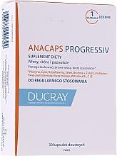 Parfumuri și produse cosmetice Supliment alimentar împotriva căderii părului - Ducray Anacaps Progressiv Anti Chute Capsule