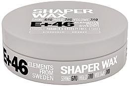 Parfumuri și produse cosmetice Ceară pentru aranjarea părului - E+46 Shaper Wax