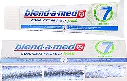 Parfumuri și produse cosmetice Pastă de dinți - Blend-a-med Complete Protect fresh 7 Mild Fresh