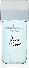 Parfumuri și produse cosmetice Dolce & Gabbana Light Blue Love is Love Pour Femme - Apă de toaletă