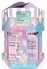 Set - Baylis & Harding Beauticology Unicorn 12 Piece Hexagon Set (soap/3x 100g+b/butter/3x50ml+b/wash/300ml+sh/cr/300ml+sh/bath/cr/300ml+b/lot/130ml+h/cr/130ml+b/cr/130ml) — Imagine N1
