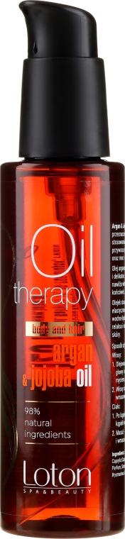 Ulei pentru păr și corp - Loton Argan & Jojoba Oil