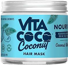 """Parfumuri și produse cosmetice Mască cu nucă de cocos """"Nourishing"""" pentru păr - Vita Coco Nourish Coconut Water Hair Mask"""