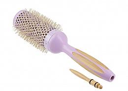 Parfumuri și produse cosmetice Perie rotundă de păr - Ilu Hair Brush BambooM Round 43 mm