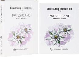 """Parfumuri și produse cosmetice Mască de țesut pentru față """"Elveția"""" - Calluna Medica Switzerland Lifting Biocellulose Facial Mask"""