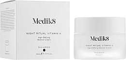 Parfumuri și produse cosmetice Cremă de noapte anti-îmbătrânire cu retinol - Medik8 Night Ritual Vitamin A