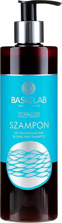 Șampon pentru păr blond - BasicLab Dermocosmetics Capillus Blonde Hair Shampoo — Imagine N2