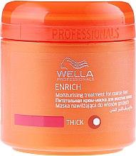 Parfumuri și produse cosmetice Mască hidratantă de păr, pentru femei - Wella Professionals Enrich Moisturizing Treatment
