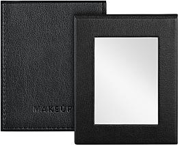 Parfumuri și produse cosmetice Oglindă tip carte de buzunar, neagră - MakeUp Pocket Mirror Black
