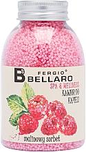 """Parfumuri și produse cosmetice Bile efervescente pentru baie """"Sorbet de zmeură"""" - Fergio Bellaro Raspberry Sorbet Bath Caviar"""