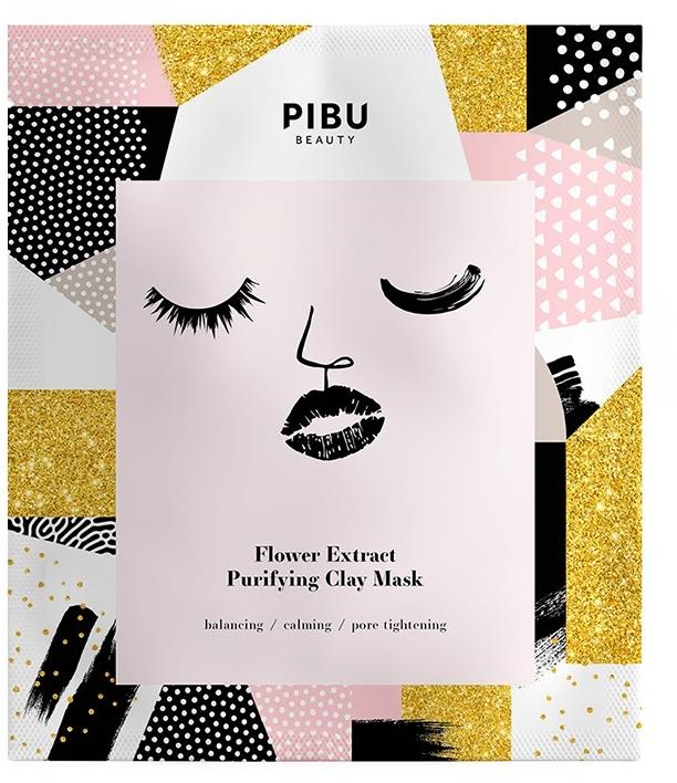 Set - Pibu Beauty Flower Extract Purifying Clay Mask Set (f/mask/5x18g) — Imagine N2