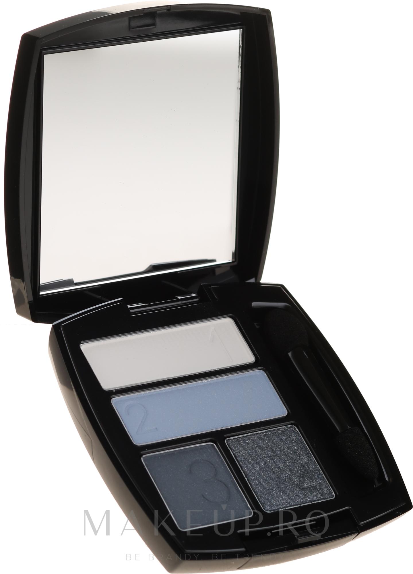 Fard de ochi - Avon True Color Eyeshadow Quad — Imagine Smoldering Blues